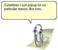 Fucking paper clip.
