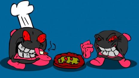 Ike and Mike make Pizza