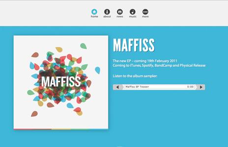 New music website