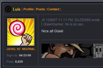 I AM NOT GLAIELGAMERS ALT
