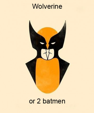 wolverine or two batmen