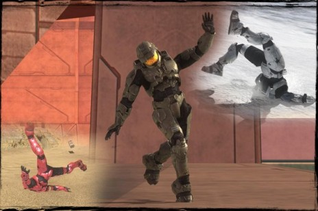 Halo 1, 2 step