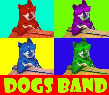Young Group Dogs Band has just started his career