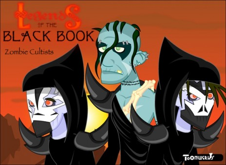 Screenshot of Legends of the Black Book 2