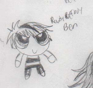 Ben the rowdyruff boy