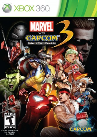 Marvel vs. Capcom 3: Fate of Two Worlds Is Available Right Now!
