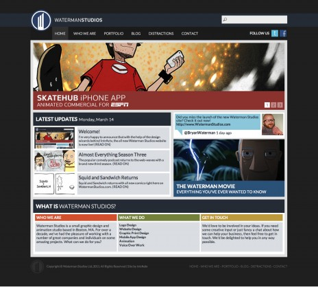 Visit the all new WatermanStudios.com!