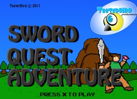New 8-bit adventure game!