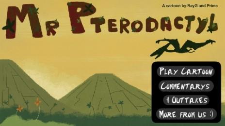 New Cartoon: Mr Pterodactyl!