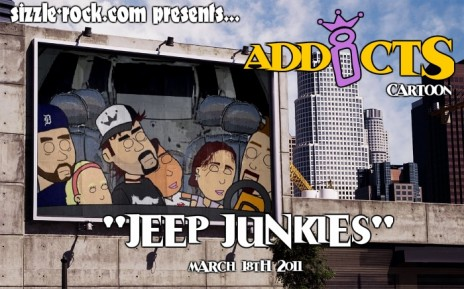 "Addicts Cartoon: ""Jeep Junkies!"""