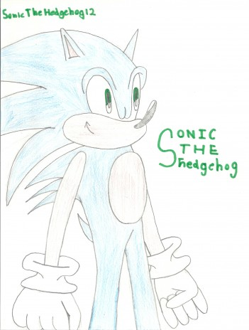 My Sonic Drawing 2011
