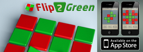 Flip2Green - New iPhone Game app!