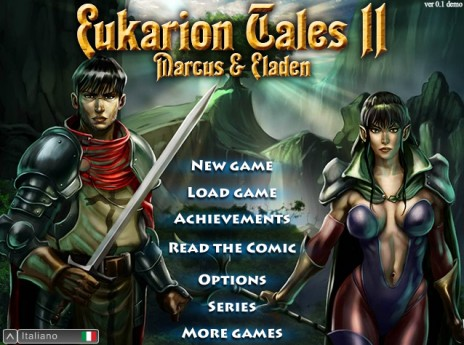 Eukarion Tales - Marcus & Eladen (Action-Rpg)