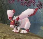 Look! Huggy hare!