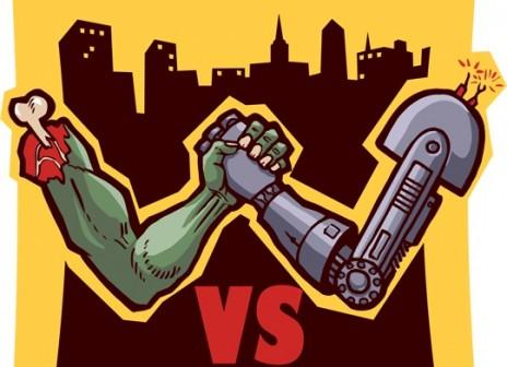 Music Wanted - Robots vs Zombi game