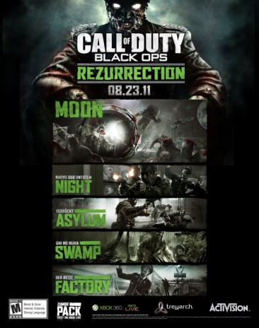 'Call Of Duty: Black Ops' Resurrection Map Pack Coming This Month