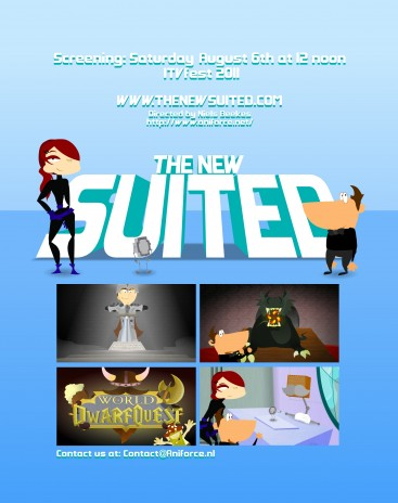 "The New Suited won ""Best Animation"" Award in Hollywood (LA)"
