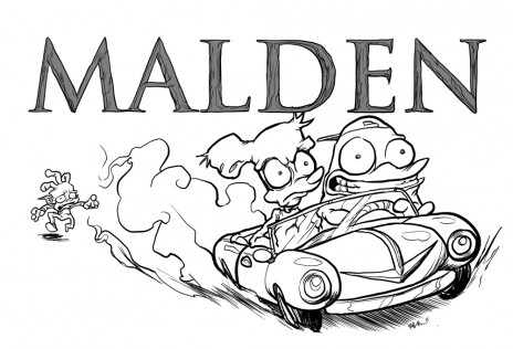 MALDEN Issue 1 for sale on ILLUSTRATED SECTION