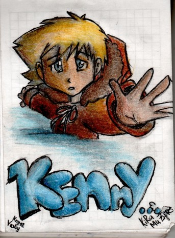 There is something Kenny in this picture)