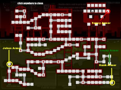 Madness Retaliation Complete map + Armor