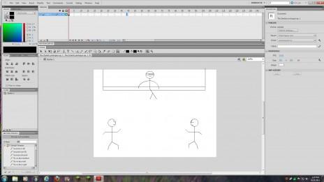 starte animating again