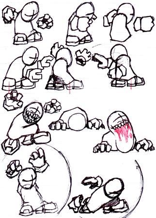 MR2 Sketched Animation Keys