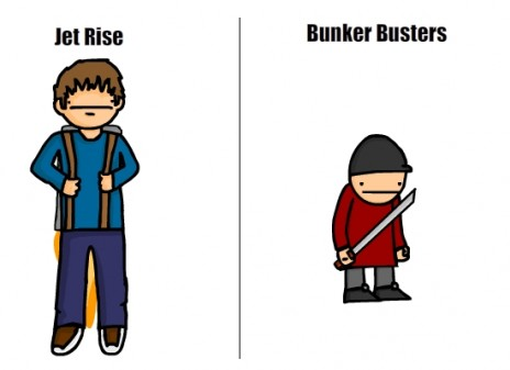 Jet Rise, And BunkerBusters Update!