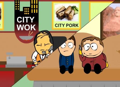 CITY WOK PRANK CALL