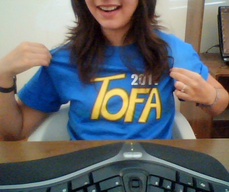 My TOFA shirt arrived!