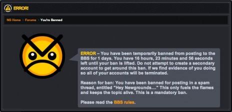 2nd ban....