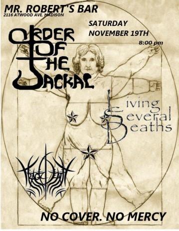 upcoming shows in November!