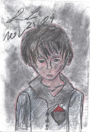 My drawing of a orphan
