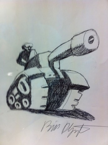 Bill Plympton Tank Logo