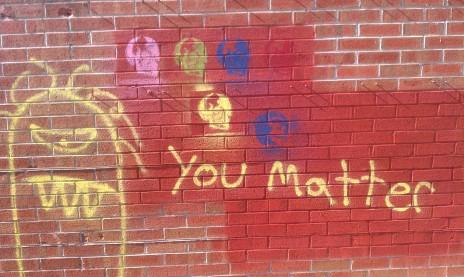 dumb graffiti