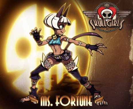 I voice for Ms. Fortune in Skullgirls!
