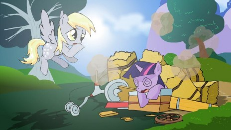 Upcoming animation (Derpy Hooves)