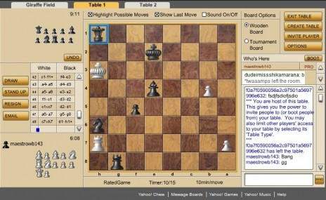 Tramps' Chess Etiquette