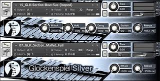 Silver Glockenspiel