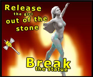 Breaking the statue? No way!