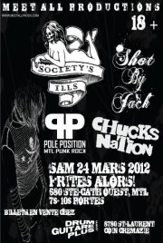 Chucks Nation is back! Live in Montreal! March 24!