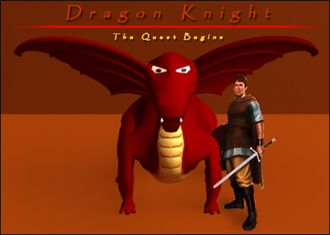 The Dragon Knight comedy short is up in the portal!