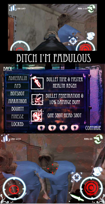 Psychosis: Zombies Survival Mini game for the ipad/iphone