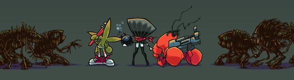 LQ: Clam, Starfish, Oil Mutants