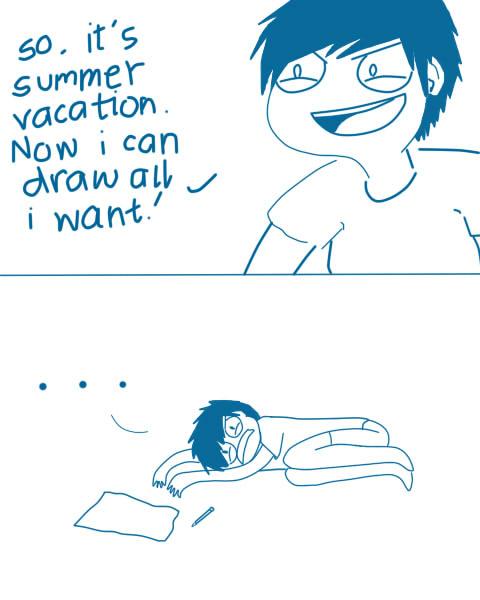 Summer Mental Block
