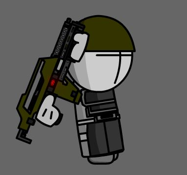 hey i made i made body armor for the marine sprites