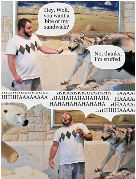 quite the pun