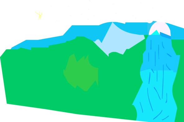 an okay mountain