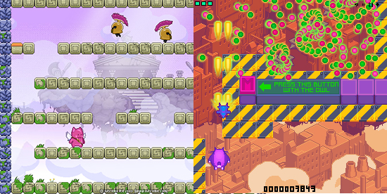 New Nitrome Games - Twin Shot and Fat Cat!