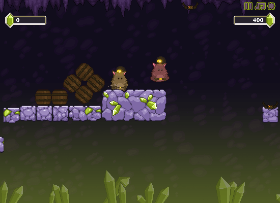 New Nitrome Game - Cave Chaos!
