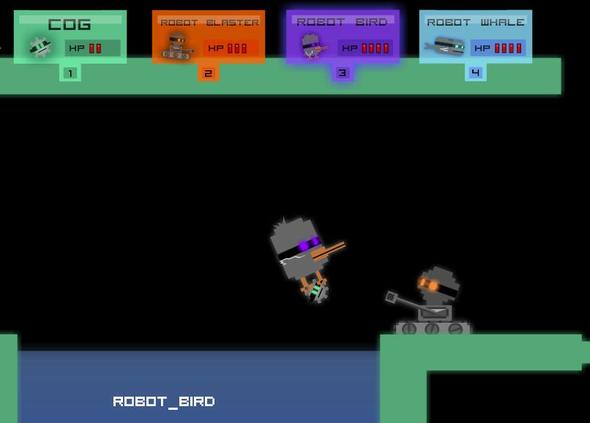 Unfinished Robot Day Game..